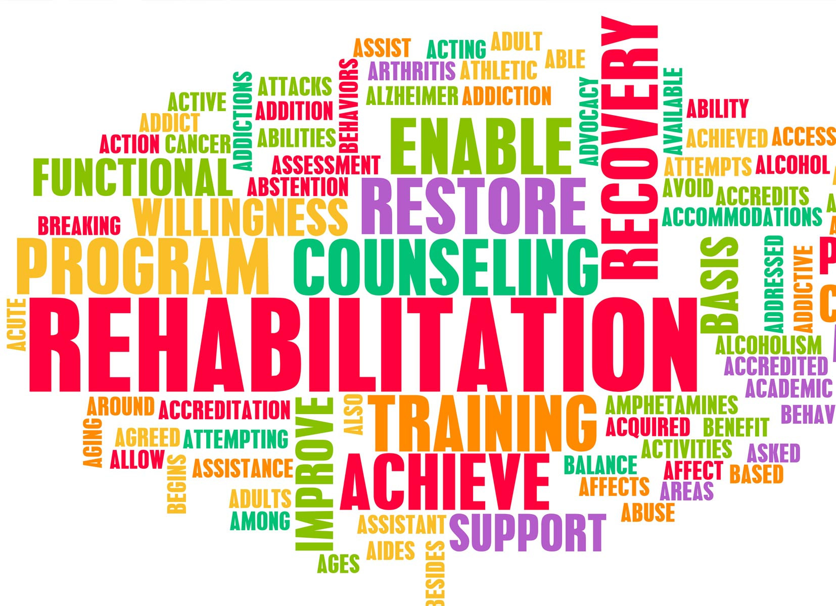 Words of Rehabilitation and Support
